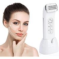 Rejuvenecimiento Facial Máquina Belleza de Radiofrecuencia RF Reafirmante Piel Masaje cara para Eliminar Arrugas Acné y Levantando Facial Adelgazar Antienvejecimiento Regalo para mujeres