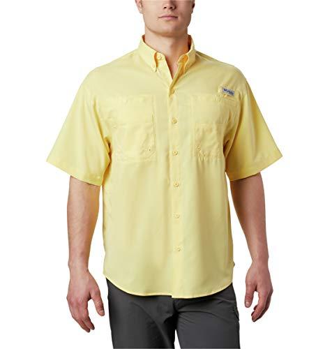 Tamiami Angeln Shirt (Columbia Men's Tamiami II Short Sleeve Shirt, Sunlit, 2X Tall)