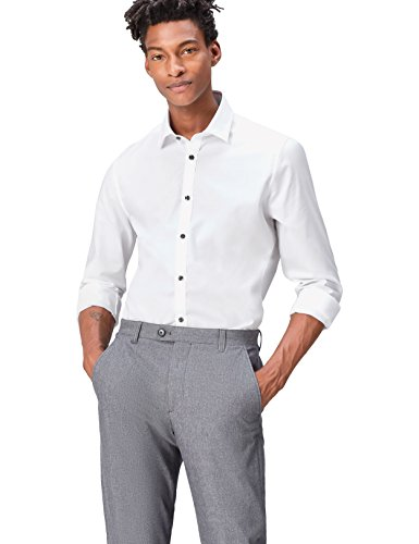Find charlie opp, camicia uomo, bianco (white), x-large