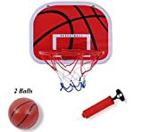 Basketballkorb Beim Büro Zimmer Mini Basketball Set Kinder Freizeit Sport Basketball-Backboard Ball und Pumpe (Indoor Basketball Brett)