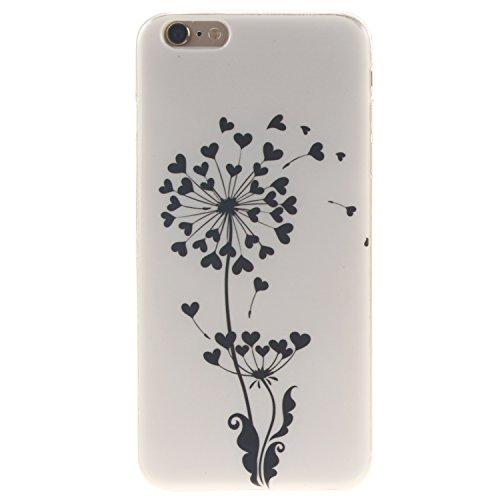 "Coque iPhone 6S Plus, MOONCASE iPhone 6 Plus Slim Coque Housse Etui Silicone Parfait Soft TPU Back Case Cover pour iPhone 6 Plus(2014) / 6s Plus(2015) 5.5"" - TX04 Fleurs Series - TX15"