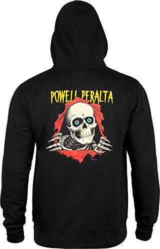 Powell Peralta Ripper Medium Gewicht Hoodie XL Schwarz