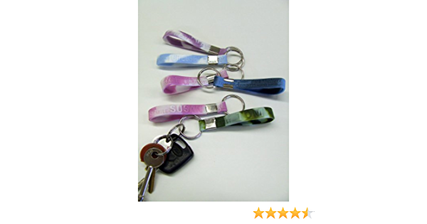 types in stock stocking filler Amber A B C KEYRING with your name 250