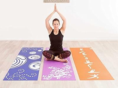 Design-Yogamatte »Avatara ComfortÂ« / Ideale Yoga-Matten für Einsteiger und Anfänger, mit schönem Motivaufdruck / Maße: 183 x 61 x 0,5cm / In vielen Farben erhältlich.
