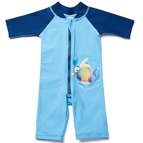charmleaks-baby-einteiler-halbarm-badeanzug-fur-saugling-kinder-fisch-druck-uv-schutz-50-blau-0-6-mo