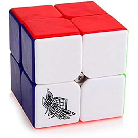 Topways® Cyclone Boys 2x2x2 mágico cubo 50 mm Inteligencia magic cube Juego de Puzzle cube (Cyclone Boys