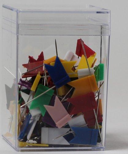 Markierfähnchen farbig sortiert VE=100 Stück