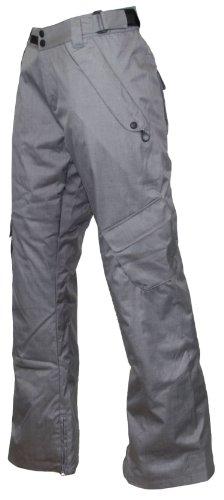 RAWIK Damen Deluxe Cargo Pant, damen, Gray Level II (Ski Pants Cargo)