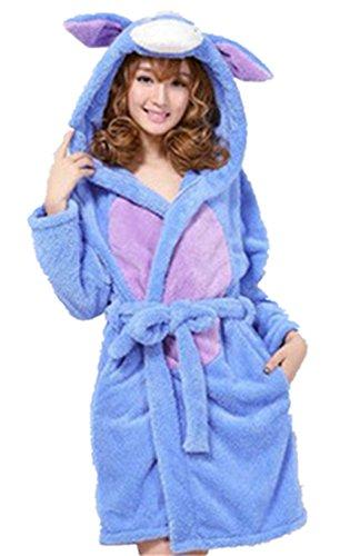 crazycatz - Robe de chambre - Femme Marron - Âne