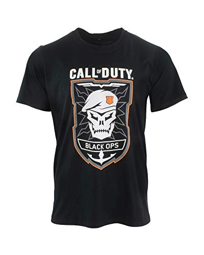 Numskull Call of Duty Black Ops 4 Black Ops Rubber T-Shirt S