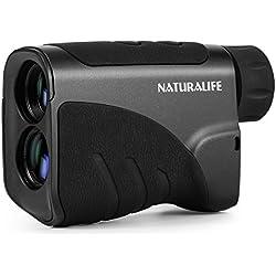 NATURALIFE telémetro láser-Telémetro láser, buscador de rango vertical multifuncional para golf, caza, actividades al aire libre, rango de 600 metros
