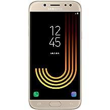 """Samsung Galaxy J530 2017 - Smartphone de 5.2"""" (Exynos Octo-Core, memoria interna de 16 GB, 2 GB de RAM, cámara dual de 13 MP, 4G, Android 7.0) color oro"""