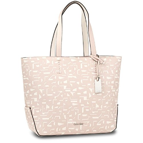 CALVIN KLEIN DAMEN HANDTASCHE EDIT MEDIUM SHOPPER PRINT K60K604072 uni pink (Shopper Medium Handtasche)