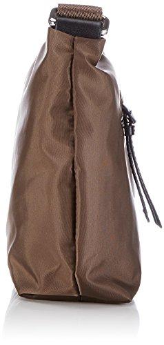 BREE Barcelona Nylon 7 Damen Umhängetaschen 28x20x7 cm (B x H x T) Braun (fango 497)