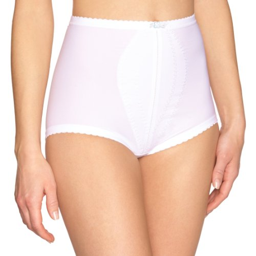 Playtex - Slip modellanti, Donna, Bianco (Blanc), 40
