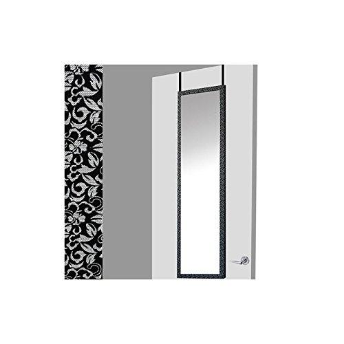 Espejo-para-puerta-negro-floral-37x2x128