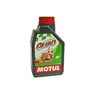 Huile moteur 4tps Motul Quad 10W40 1 litre pas cher