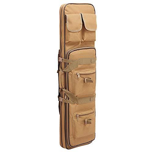 Tarnung Rifle Tactical Tasche Angelrute Tasche Angeln Aufbewahrungstasche Set Bräunen100