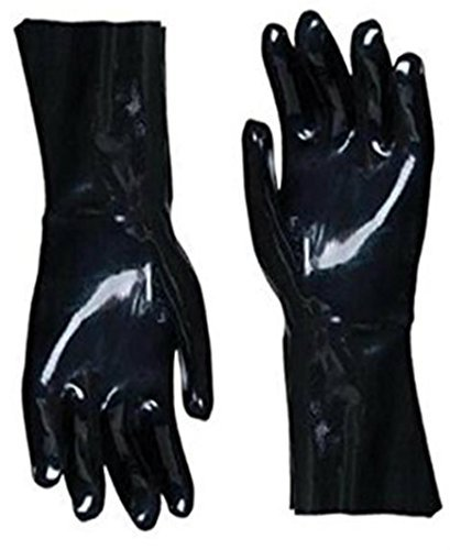 Insulated Barbecue Gloves * Best Heat Resistant Neoprene For Handling Food Right On Your Smoker, BBQ or Grill * Use For Cooking & Handling Turkey Fryers, Smokers, BBQ's, Pulling Pork, Home Brew Tasks.