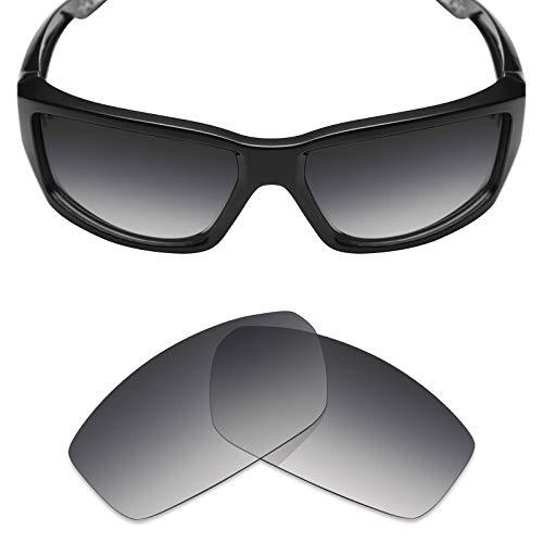 Mryok Ersatzgläser für Spy Optic Dirty Mo - Optionen, Grau (Polarized - Grey Gradient Tint), Einheitsgröße