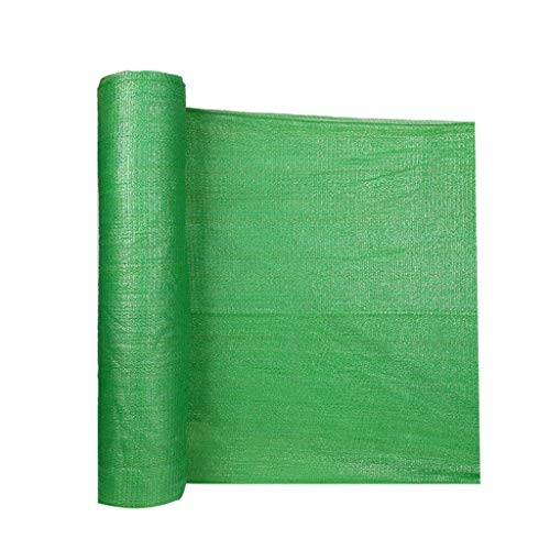 GJM Shop Filet D'ombrage Vert 3 Broches Taux D'ombrage De 50% À 60% De Plein Air Crème Solaire Anti-UV Respirant Filet D'ombrage (Taille : 10 Wide x 50m Long)