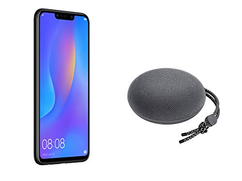 "Huawei PSmart+ (Nero) più esclusivo speaker Bluetooth, Telefono con 64 GB, Display 6.3"" Full HD, Processore Octa Core dinamico con Intelligenza Artificiale [Versione Italiana]"