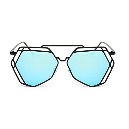 Minzhi Hohle-Out Lady Metall Sommer Ausr¨¹stung Parized Brillen Sonnenbrillen