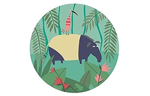 Petit Jour Paris Jungle Kinderteller–Tapir