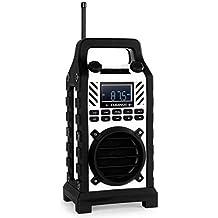 Duramaxx 862-BT Altavoz Reproductor MP3 • Bluetooth • Puerto USB • Lector Tarjetas SD