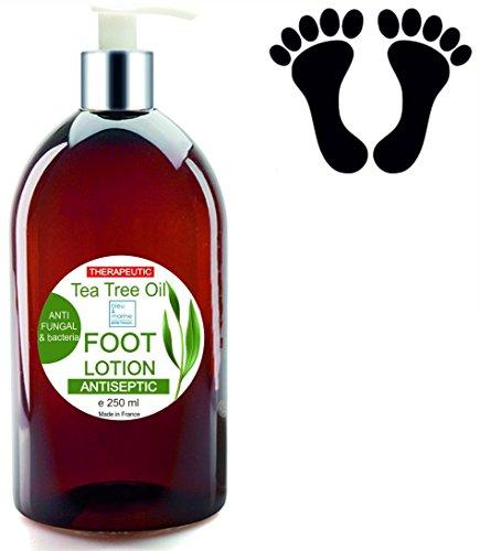 Creme Füße Ultra feuchtigkeitsspendend mit Tee Baum Öl entgiftend Anti Pilze 250 ml – Deodorant Füße Intime Deodorant Für Männer