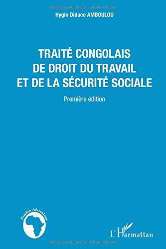 Traité congolais de droit du travail et de la sécurité sociale