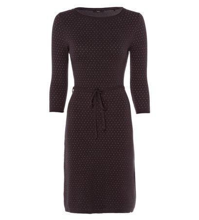 zero Damen Kleid mit Wollanteil 313601 anthracite 38