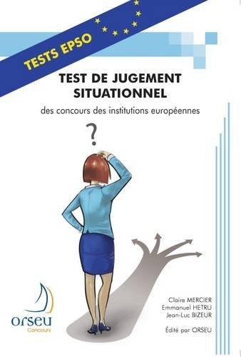 Test de jugement situationnel des concours des institutions européennes