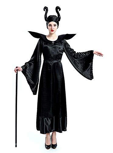 Inception pro infinite Größe M - Kostüm Bad Witch Maleficent Dornröschen Frau Mädchen Verkleidung Karneval Halloween Cosplay Zubehör