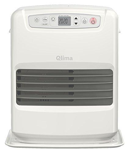 Qlima SRE23C-2 Poêle à pétrole électronique 2800 W, Blanc