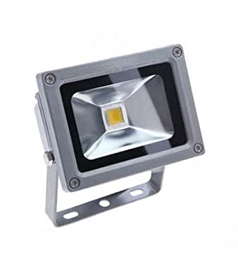Projecteur LED Ecolife 12/24V DC - 10W - COB Bridgelux - Blanc Chaud