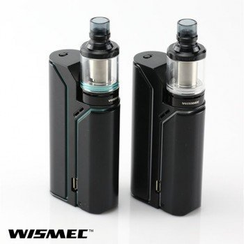 WISMEC Reuleaux RX75 TC Kit + Armor Verdampfer Komplettset Farbe Schwarz