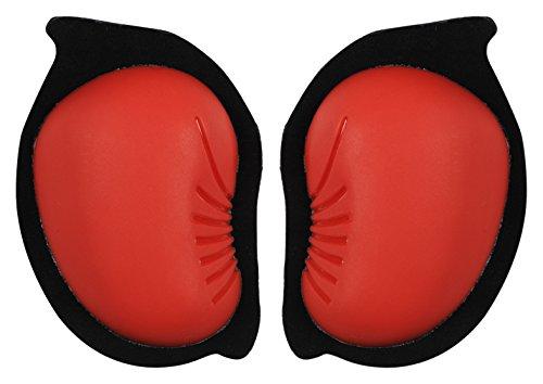 zandona-3500rdun00-saponetta-per-tuta-knee-sliders-hook-velcro-rosso-taglia-unica