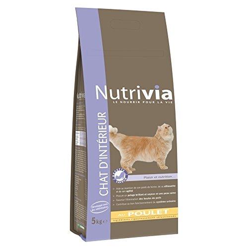 Nutrivia : Croquettes Chat Intérieur : 5kg