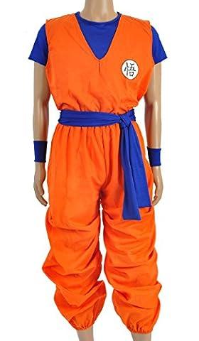 CoolChange costume cosplay de Son Goku en 3 parties, taille : XL
