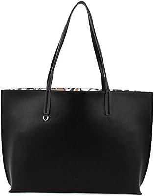ESPRIT edc Flores Reverse Shopper Bolsa Black