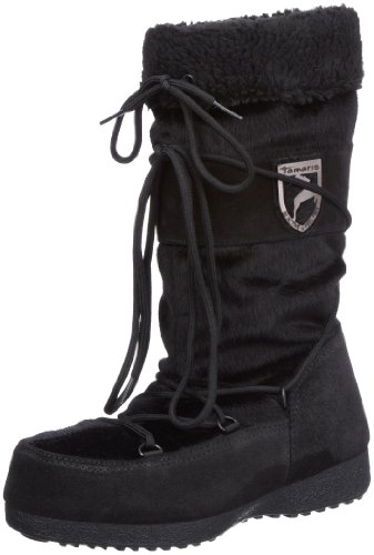 Tamaris ACTIVE 1-1-26701-29, Stivali da neve donna Nero (Schwarz (BLACK 001))