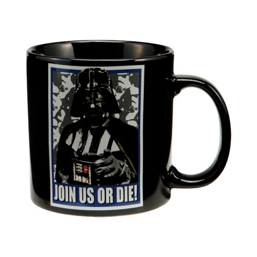 Joy Toy Star Wars 99161 - Taza de cerámica (591 ml), diseño de Darth Vader