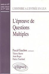 L'épreuve de questions multiples en sciences politiques