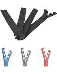 Gorilla Sports - 8 Schutzmatten Endstücke in verschiedenen Farben Länge 62,5cm Dicke 1,2cm