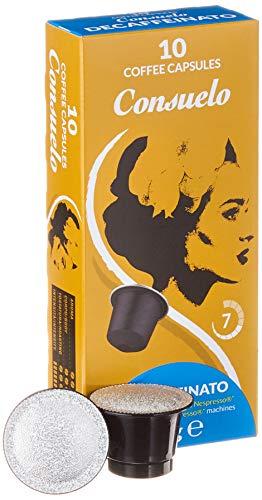 Consuelo Nespresso* kompatible Kapseln   - Koffeinfrei, 100 Kapseln (10x10)