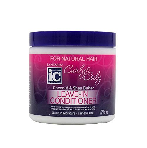 Fantasia Ic Curly & Coily Leave-in Conditioner 453 gr - Fantasia Ic-shea-butter