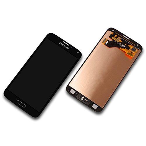 LCD Display Samsung G903F Galaxy S5 Neo GH97-17787C Original full set silber