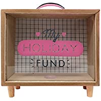 Spardose My Holiday Fund aus Holz preisvergleich bei kinderzimmerdekopreise.eu