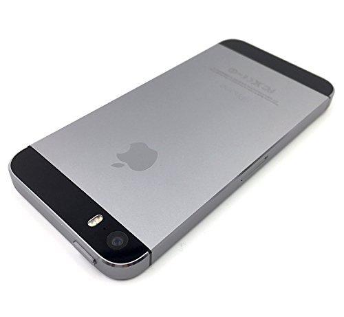 Apple iPhone 5S 32 GB - Smartphone libre iOS  pantalla 4   c  mara 8 Mp  32 GB  Dual-Core 1 3 GHz  1 GB RAM   gris  importado